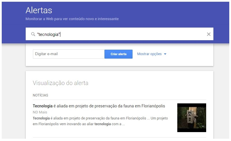 Alerta Google Noticias