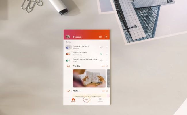 office mobile app