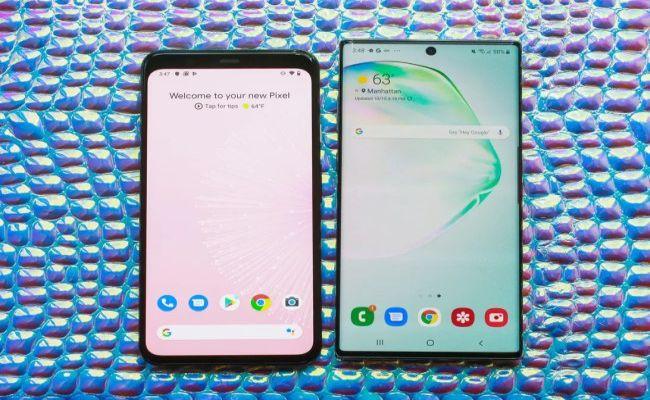 smartphone google samsung