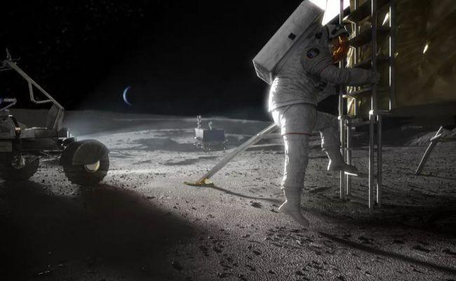 viagem espacial lua
